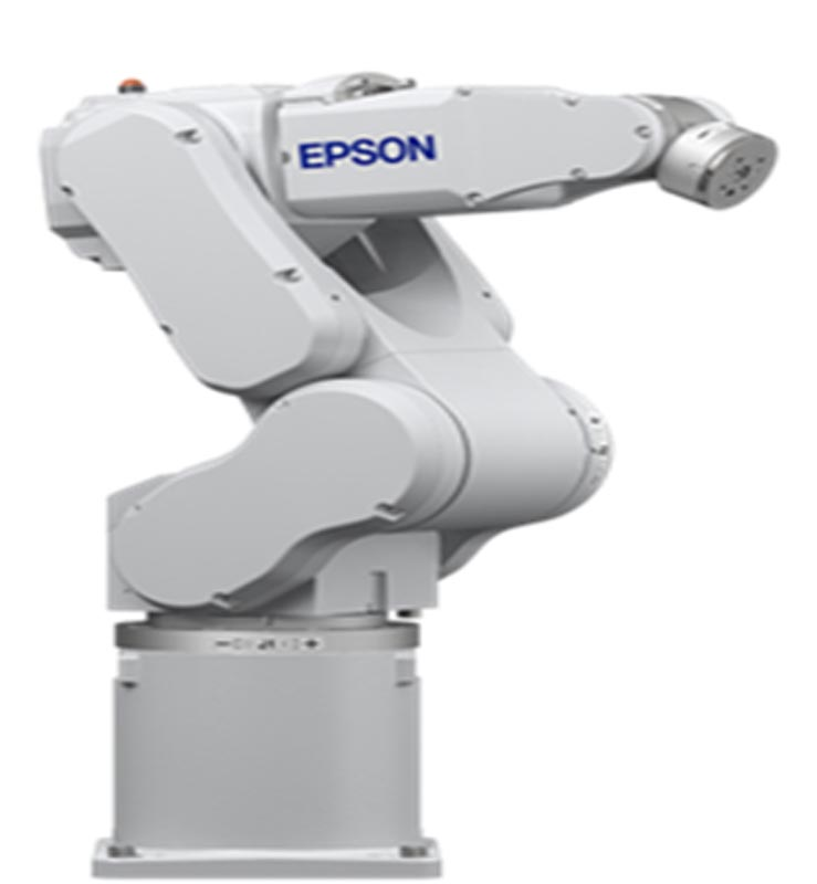 EPSON Robots Series C4 six axis, 4 Kg max, 900mm