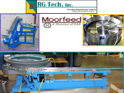 Moorfeed Linear Vibratory RGTRGT and bowl