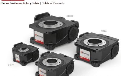 Rotary Servo Positioner  GTB Series Destaco CAMCO